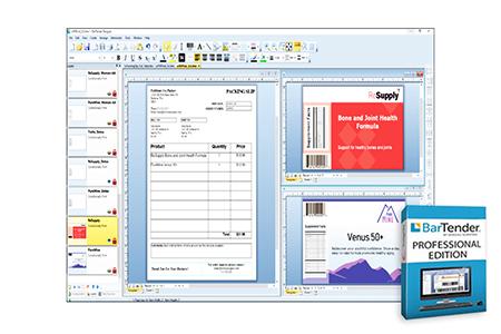 Bartender Barcode Printing Software